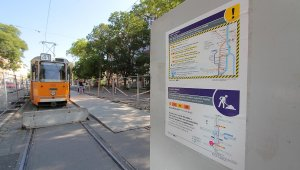 Vasárnap estig nem járnak a villamosok a Fehérvári úton