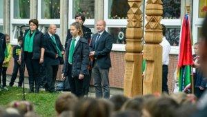 Nemzeti emlékhelyet avattak a Grosics iskolában