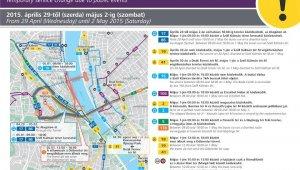 Közlekedési változások a Munka ünnepén