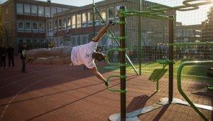 Szabadtéri edzőparkot avattak a Grosics iskolában