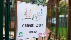 Cirmos liget néven várja látogatóit Őrmezőn a volt Idősek Parkja
