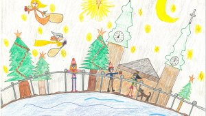Hoffmann Tamás polgármester díjazottja: Kovács Emma Zita, 9 éves – Karácsony a Feneketlen-tónál