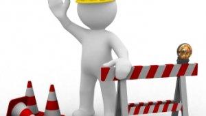 Ideiglenes út épül az alagút helyreállítását végző teherforgalomnak