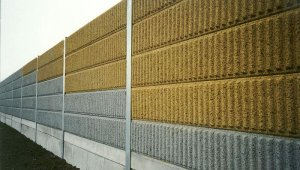 Javítják a zajvédő falat a Rákóczi híd budai hídfőjénél