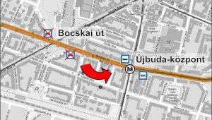 Újbuda-Központhoz kerül a Bocskai úti buszmegálló